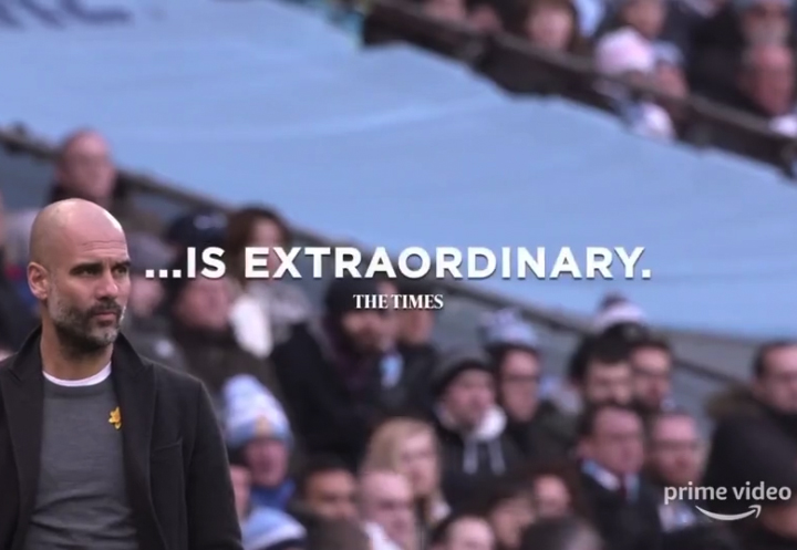All or nothing, Pep Guardiola. Productora audiovisual
